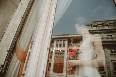 Reportajes de Boda en Bilbao  rosa clara